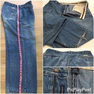 Ralph Lauren Relaxed Jeans, Medium Blue SZ.36